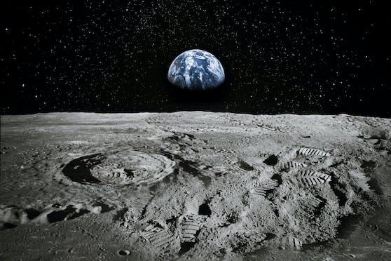 """Dank des """"Mondhotels"""" soll bald die erste Frau einen Schritt auf den Mond setzen."""