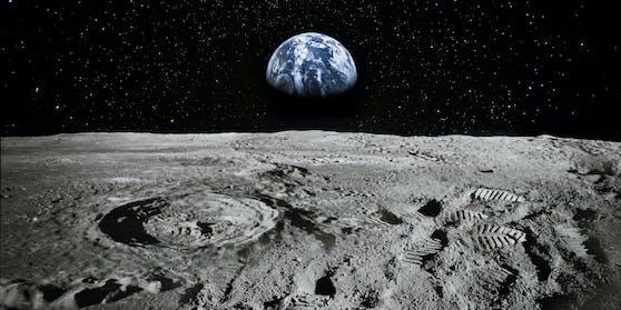 Russland und China wollen eine Forschungsstation am Mond bauen.