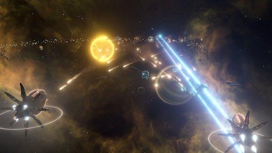 Stellaris: Console Edition ab sofort im Handel verfügbar.