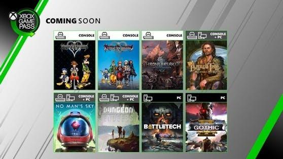 Xbox Game Pass: Neue Highlights im Juni