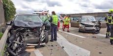 7 Verletzte, zerfetzte Autos: Die Bilanz des A2-Unfalls