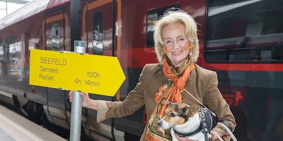 Cultour mit Elisabeth Gürtler und 20 Künstlern in Tirol