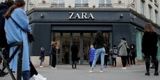 Zara-Mutter schließt bis zu 1.200 Läden
