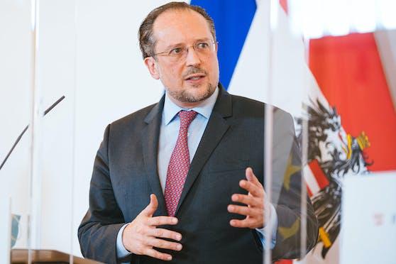 Österreichs Außenminister konkretisierte die Urlaubsregeln für Österreich.