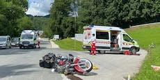 4 Verletzte bei Crashs in Tirol