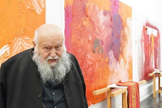Nitsch und seine Kunstwerke.