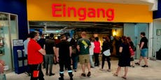 Bei langen Schlangen will Ikea Parkplatz sperren