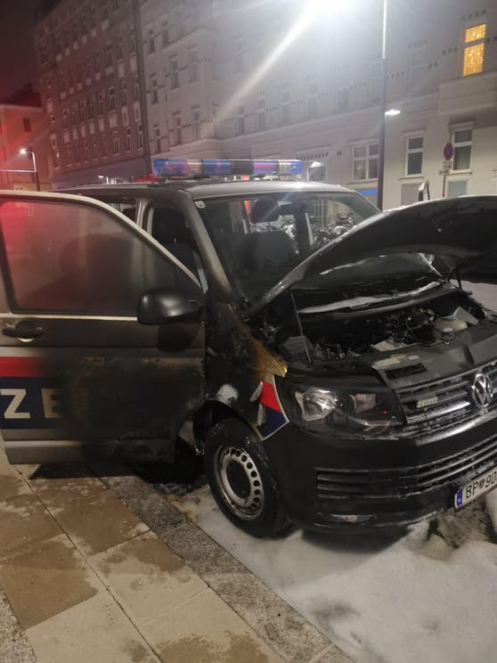 Spur der Verwüstung in Wien