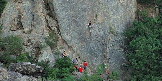 Symbolfoto eines Klettersteigs in Dürnstein.
