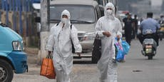 Neue Corona-Fälle: Teile Pekings wieder abgeriegelt