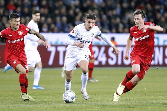 Leverkusen holte auf Schalke ein 1:1.