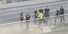 Männer liefern sich wilde Schlägerei beim Donaukanal