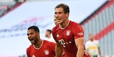 2:1 gegen Gladbach! Ein Sieg fehlt Bayern zum Titel