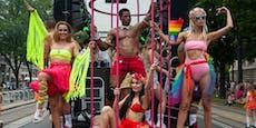 Regenbogen-Korso sorgt für Sperren in Wiener City