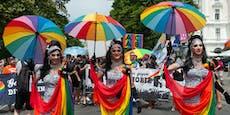 Regenbogenparade findet heuer per Rad und zu Fuß statt