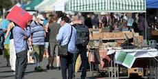 Flohmarktstände nun auch wieder für Private verfügbar