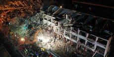 Mindestens 18 Tote nach Explosion eines Tanklastwagens