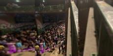 Massenandrang und Klo-Notstand bei Donaukanal-Partys