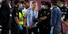 Messi-Flitzer erklärt, wie er auf das Spielfeld kam