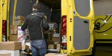 Lange Verzögerungen: Post schafft Paket-Flut nicht