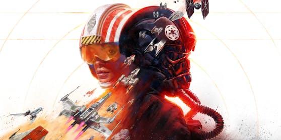 """In """"Star Wars Squadrons"""" werden X-Wings und TIE-Fighter geflogen."""
