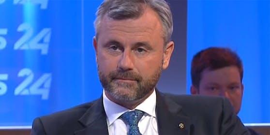 FPÖ-Chef Norbert Hofer in den Puls24-Sommergesprächen.