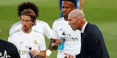 Coach Zidane geht trotz Sieg auf die Real-Stars los