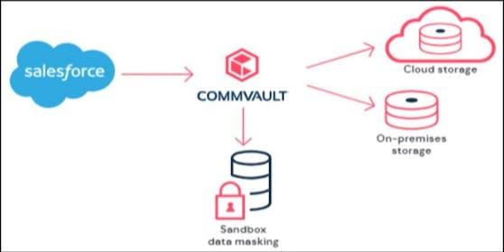 Commvault bietet Alternative zu Salesforce-Datensicherung.