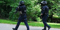 Wega-Einsatz wegen Armbrust-Mann in Wiener Park