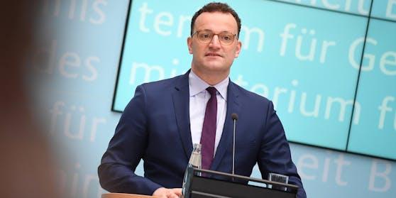 Der deutsche Gesundheitsminister Jens Spahn