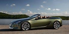 Das Lexus LC Cabrio ist ab sofort bestellbar