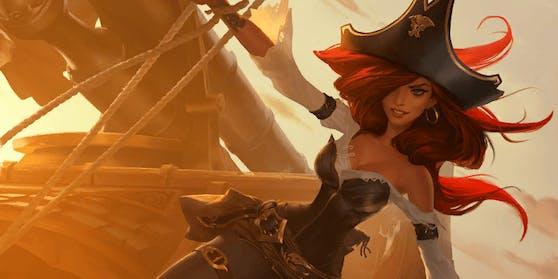 """Die Piratin Miss Fortune ist jetzt nicht nur in """"League of Legends"""" unterwegs, sondern auch in """"Dungeons & Dragons""""."""