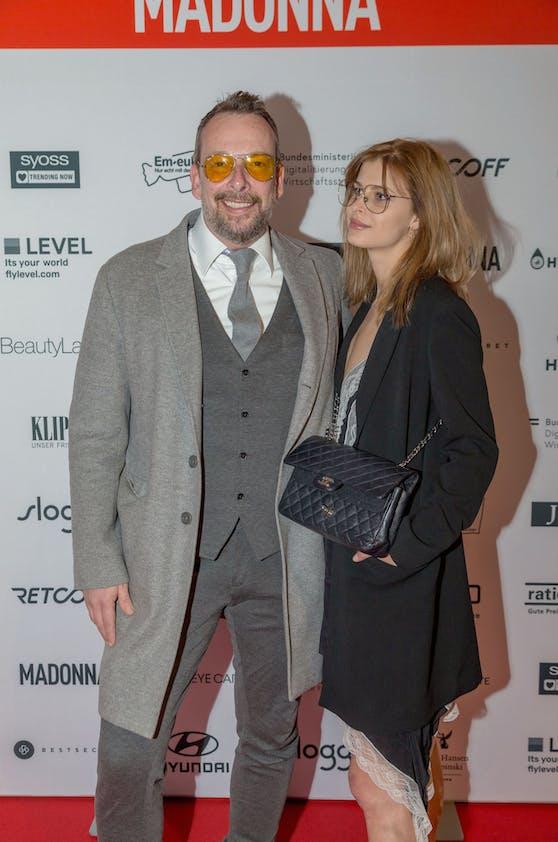 Robert Kratky mit seiner Ex-Lebensgefährtin Franziska Sumberaz
