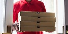 Frau bestellte 50 Pizzen, um ihren Ex zu sehen
