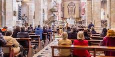 Diese Corona-Maßnahmen gelten beim Gottesdienst