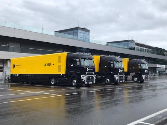 Renault ist schon da, Ferrari und Racing Point sind im Anflug