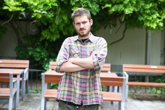 Mitja M. (22) muss für einen Furz 500 Euro bezahlen.