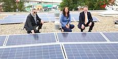 Spitäler und Sportstätten werden Solarkraftwerke