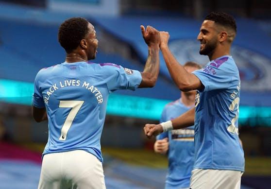 Manchester City hält sich im Titelrennen.