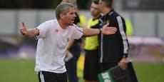 Das sagt Rapid-Coach Kühbauer zu den Verletzungen