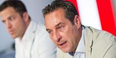 """Strache zu Gudenus' Koks-Fotos: """"Ich wäre explodiert"""""""