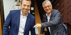 """FPÖ tauschte """"Stoff mit Nasenbürgerl gegen Krügerl"""""""