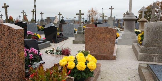 Symbolfoto eines Friedhofs