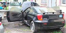 Feuer in Auto – Polizist rettet Bub (3) das Leben