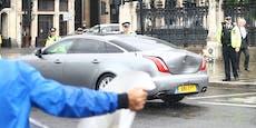 Premier Boris Johnson in Autounfall verwickelt