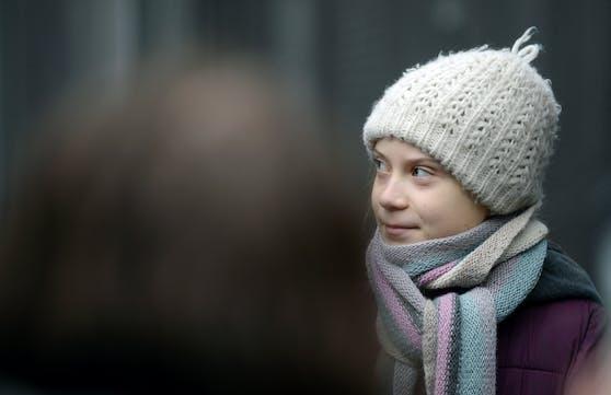 Greta Thunberg macht sich Gedanken um die Coronakrise.