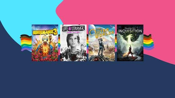 Bis zum 30. Juni sind die Pride-Spielesammlungen für Xbox One und Windows 10 PC im Microsoft Store online.