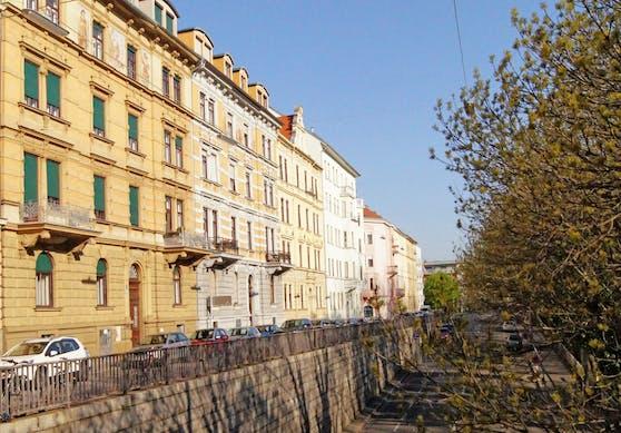 Wohnhäuser am Grazer Lendkai nahe der Keplerbrücke. (Symbolfoto)