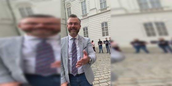 Norbert Hofer (FPÖ) wurde mit dem Koran-Sager konfrontiert.