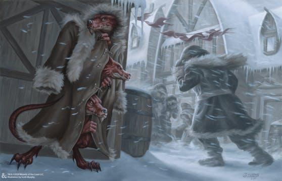 """Eine Illustration aus """"Icewind Dale: Rime of the Frostmaiden""""."""